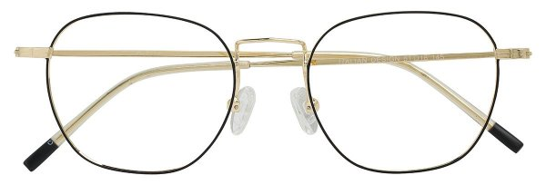 Armação Óculos Receituário AT 9112 Preto/Dourado