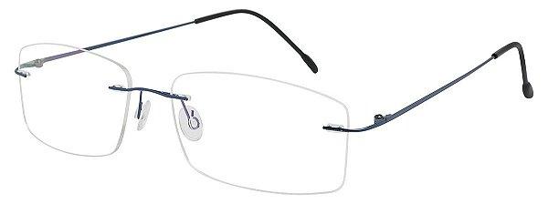 Armação Óculos Receituário AT 853 Azul Titanium