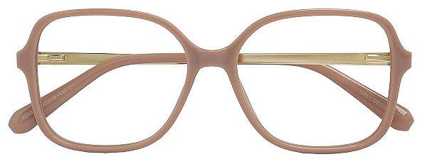 Armação Óculos Receituário AT 98124 Nude
