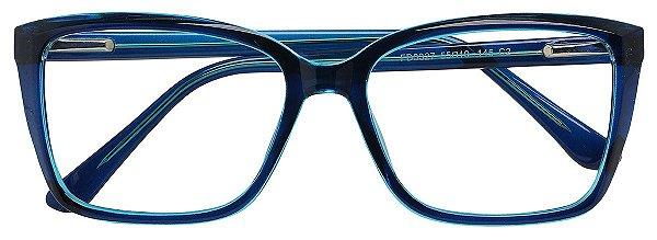 Armação Óculos Receituário AT 3327 Azul