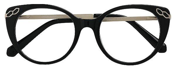 Armação Óculos Receituário AT 6669 AT Preto