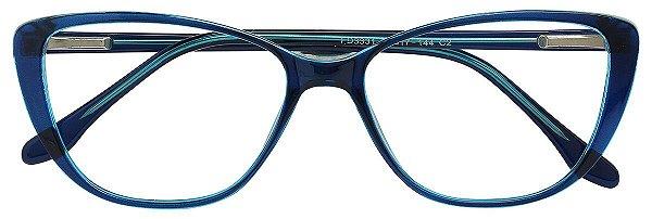 Armação Óculos Receituário AT 3331 Azul