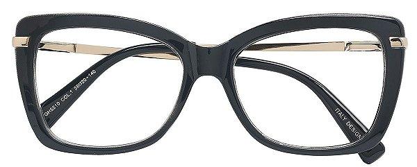 Armação Óculos Receituário AT 5510 Cinza