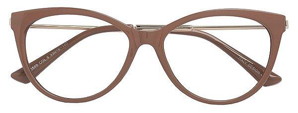Armação Óculos Receituário AT 5569 Nude