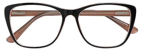 Armação Óculos Receituário AT 3335 Preto/Nude