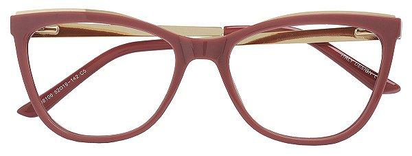 Armação Óculos Receituário AT 98106 Rosa