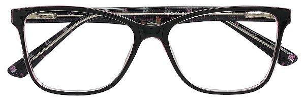 Armação Óculos Receituário AT 3001 Vinho Transparente