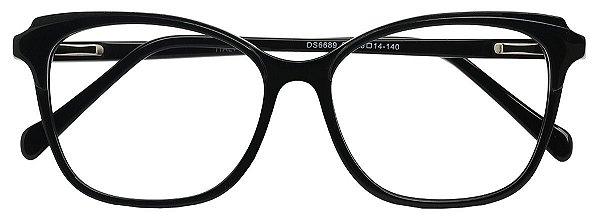 Armação Óculos Receituário AT 6689 Preto