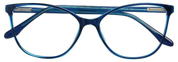 Armação Óculos Receituário AT 3329 Azul