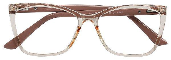 Armação Óculos Receituário AT 1158 Champagne/Nude