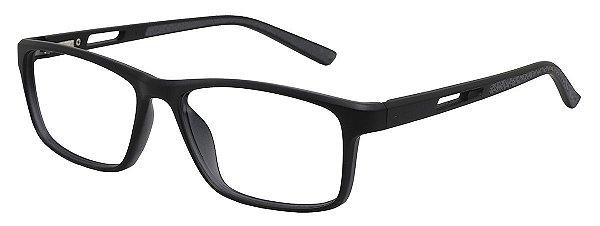 Armação Óculos Receituário AT 1004 Preto/Cinza