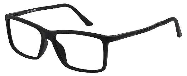 Armação Óculos Receituário AT 22019 Preto