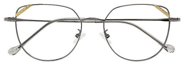 Armação Óculos Receituário AT 6030 Chumbo