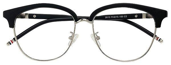 Armação Óculos Receituário AT 2613 Preto