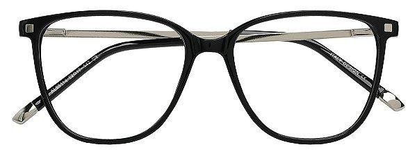 Armação Óculos Receituário AT 98114 Preto