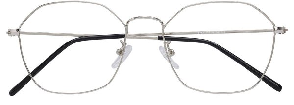 Armação Óculos Receituário AT 6784 Prata
