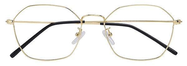 Armação Óculos Receituário AT 6784 Dourado