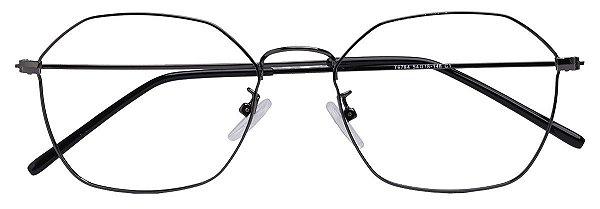 Armação Óculos Receituário AT 6784 Preto