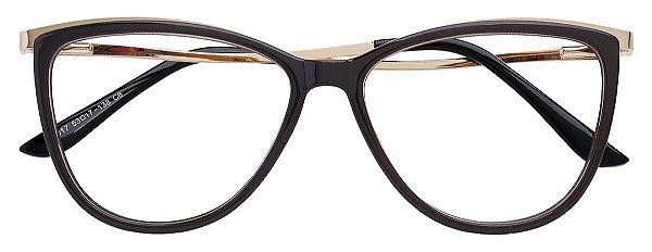 Armação Óculos Receituário AT 017 Marrom