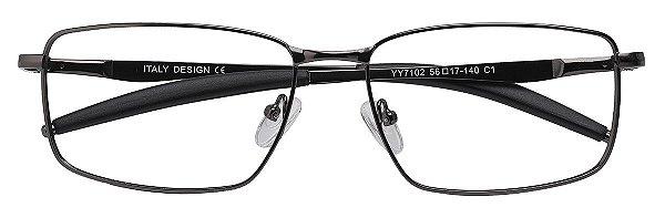 Armação Óculos Receituário AT 7102 Chumbo