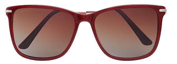 Óculos de Sol Feminino AT 55116 Vermelho