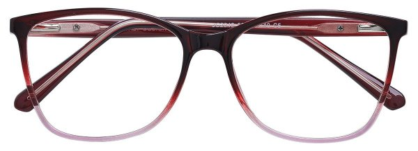 Armação Óculos Receituário AT 2040 Vermelho Degradê