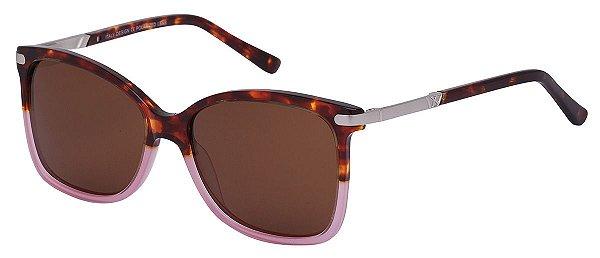 Óculos de Sol Feminino AT 6638 Tartaruga/Rosé