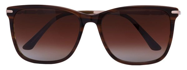 Óculos de Sol Feminino AT 55116 Marrom Mesclado