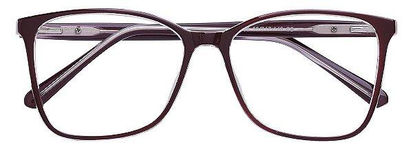 Armação Óculos Receituário AT 2035 Vinho