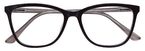 Armação Óculos Receituário AT 3339 Marrom/Branco