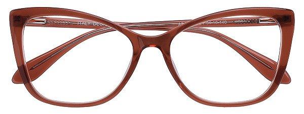 Armação Óculos Receituário AT 33221 Marrom