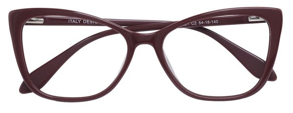 Armação Óculos Receituário AT 33221 Vinho