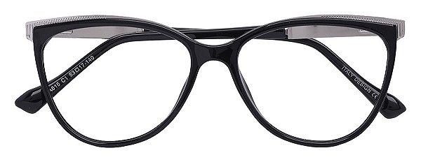 Armação Óculos Receituário AT 615 Preto