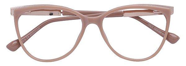 Armação Óculos Receituário AT 615 Nude