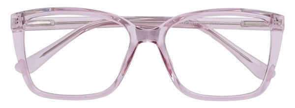 Armação Óculos Receituário AT 3327 Rose Transparente