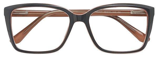Armação Óculos Receituário AT 3327 Cinza/Nude