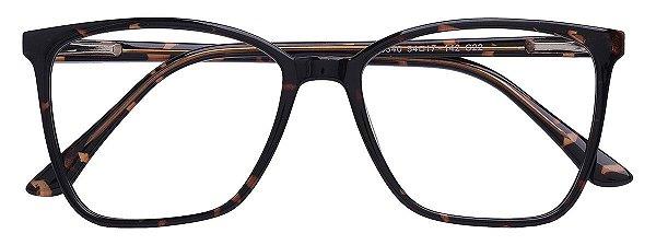 Armação Óculos Receituário AT 3340 Marrom Tartaruga