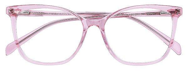 Armação Óculos Receituário AT 33230 Rosé Transparente