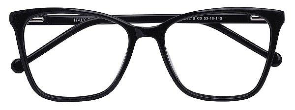 Armação Óculos Receituário AT 33215 Preto