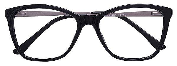 Armação Óculos Receituário AT 6349 Preto