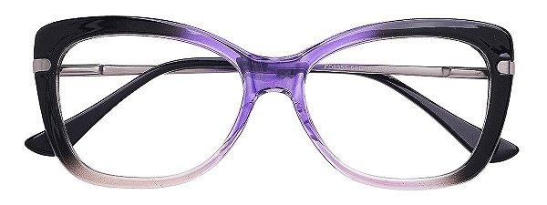 Armação Óculos Receituário AT 6356A Azul Degradê