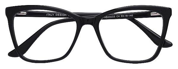 Armação Óculos Receituário AT 33223 Preto