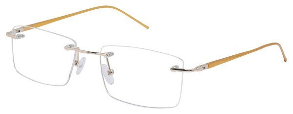 Armação Óculos Receituário AT 9145 Dourado