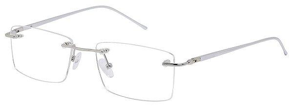 Armação Óculos Receituário AT 9145 Prata