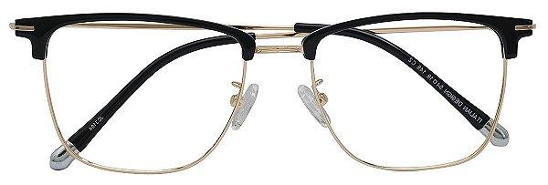 Armação Óculos Receituário AT 3104 Preto/Dourado