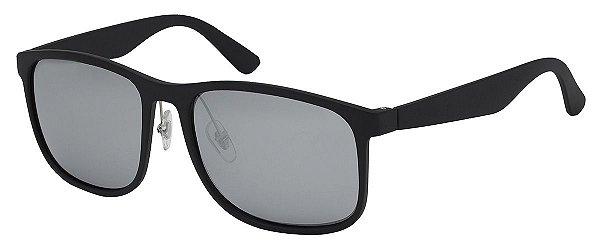 Óculos de Sol Masculino Espelhado AT 253 Prata/Preto
