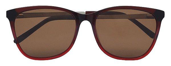 Óculos de Sol Feminino AT 88101 Vermelho Degradê
