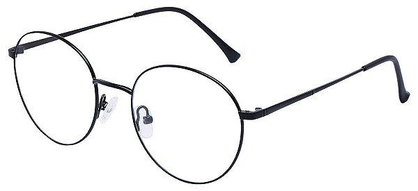 Armação Óculos Receituário AT 013 Preto
