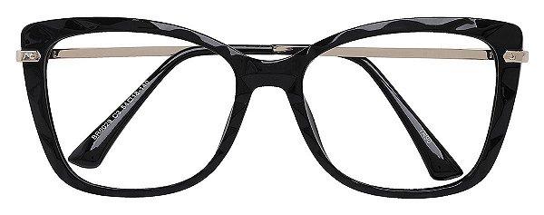 Armação Óculos Receituário AT 6029 Preto Mosaico