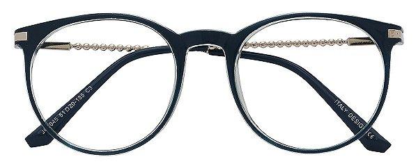 Armação Óculos Receituário AT 2045 Azul